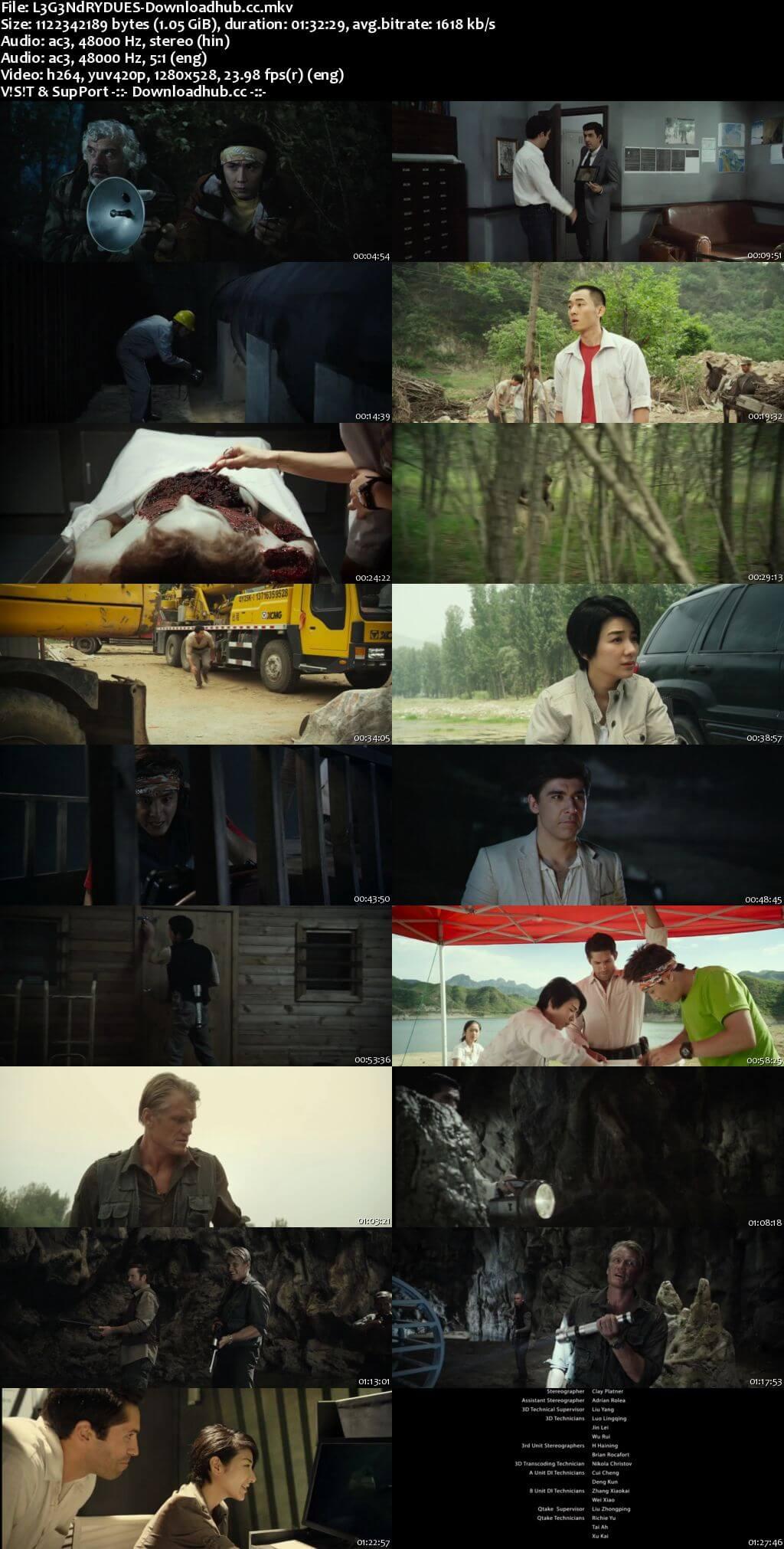 Legendary 2013 Dual Audio 720p BluRay [Hindi - English]