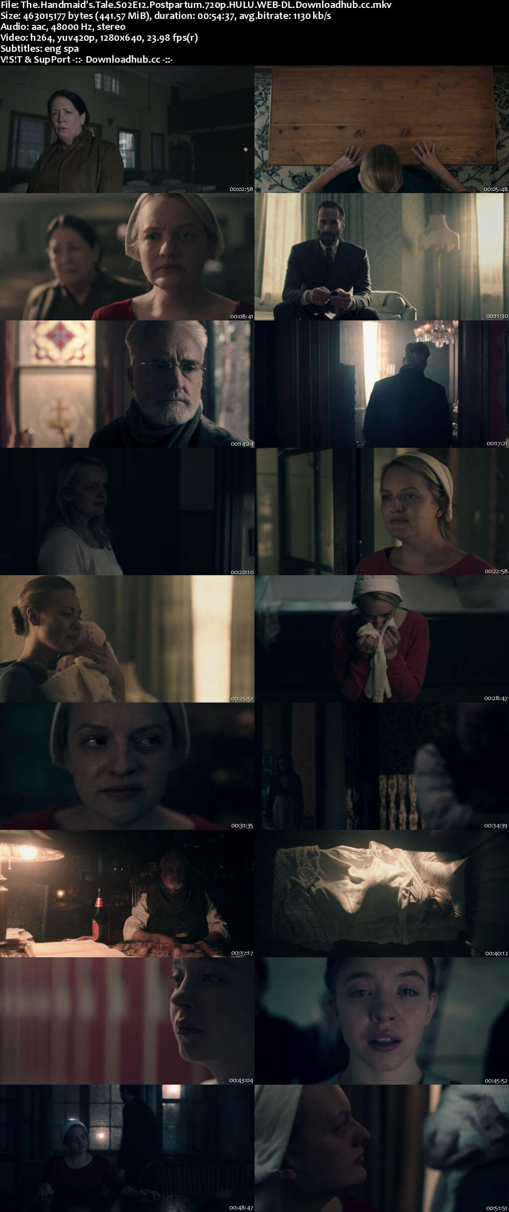 The Handmaids Tale S02E12 440MB HULU WEB-DL 720p x264 ESubs