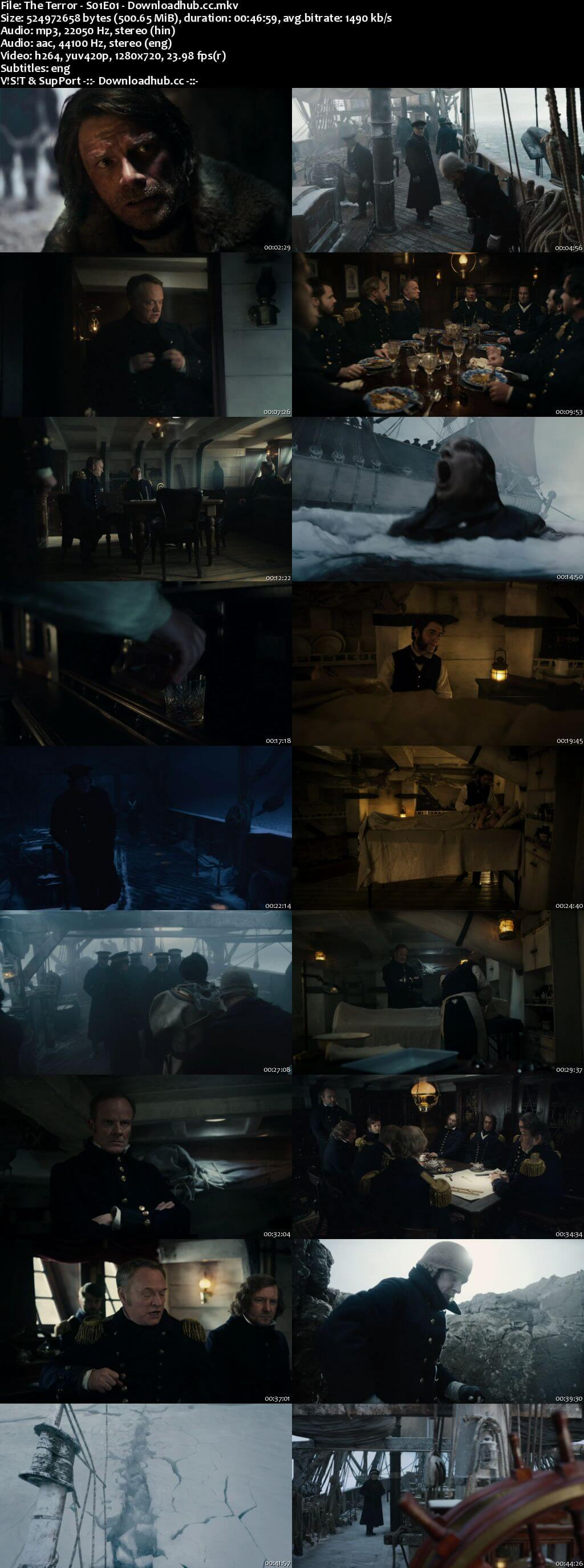 The Terror S01 Complete Dual Audio 720p Web-DL [Hindi - English] ESubs