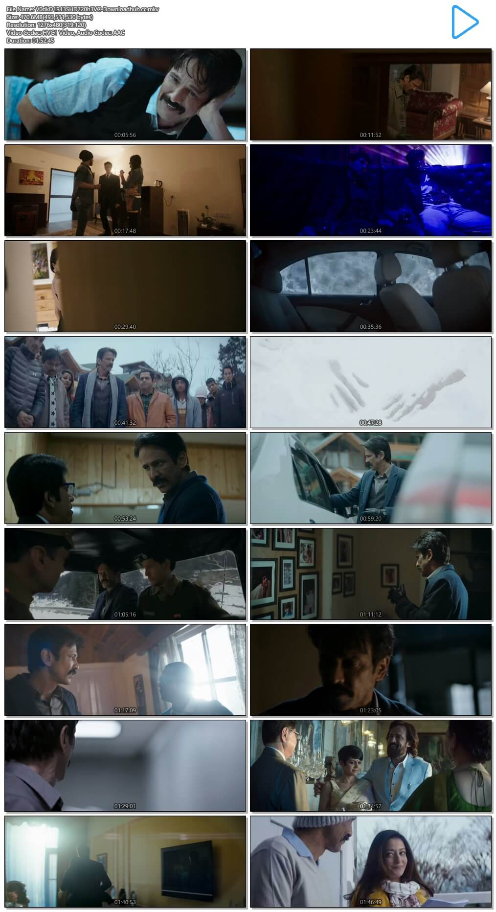 Vodka Diaries 2018 Hindi 450MB HDRip 720p HEVC