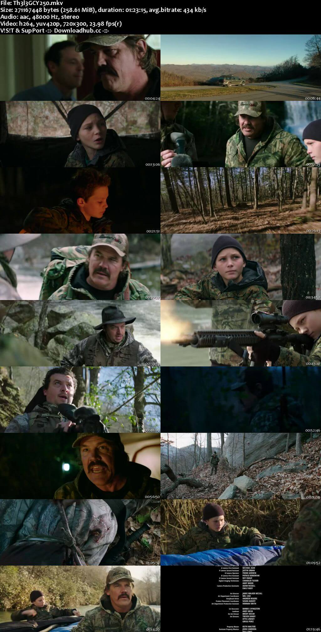The Legacy of a Whitetail Deer Hunter 2018 English 250MB WEBRip 480p ESubs