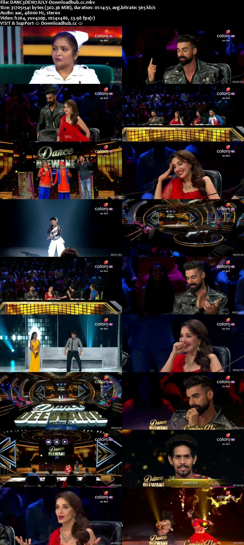 Dance Deewane 07 July 2018 Episode 11 HDTV 480p