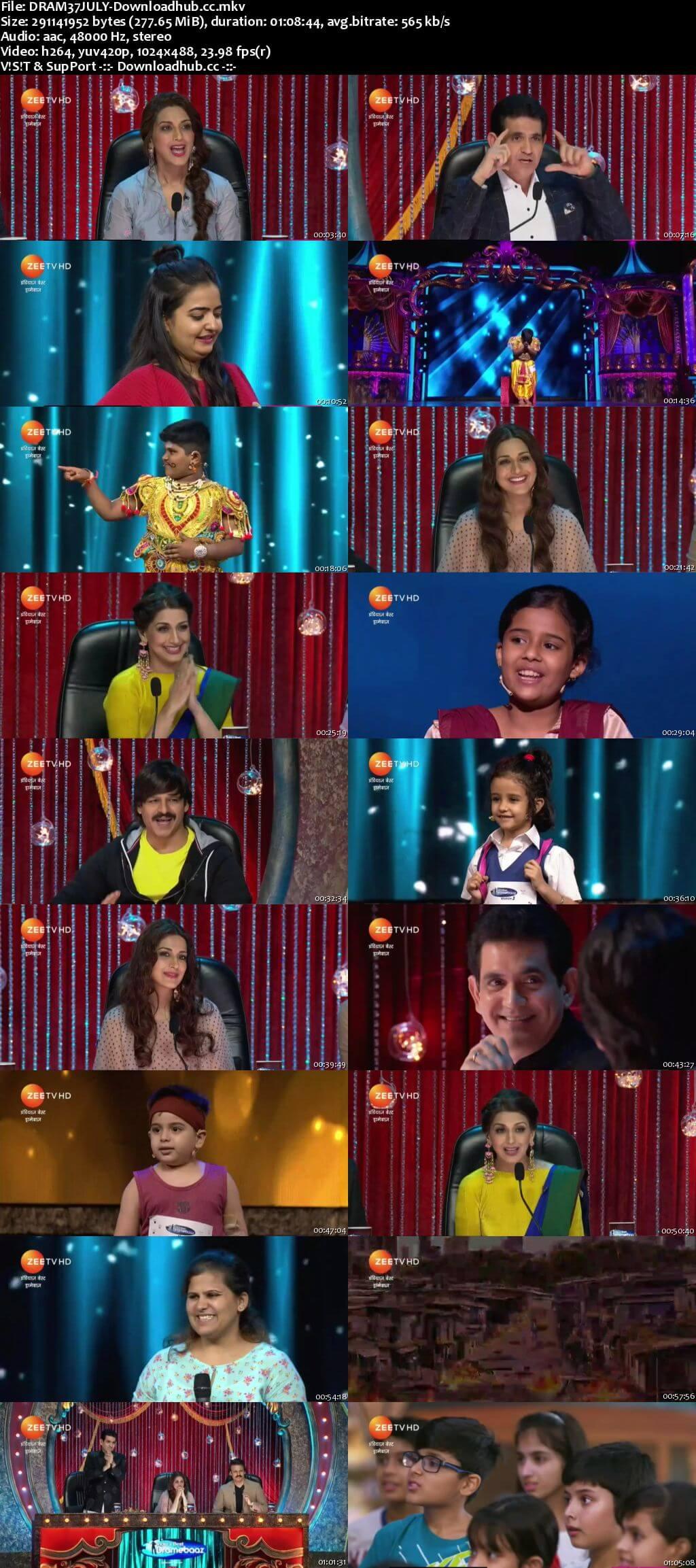 Indias Best Dramebaaz Season 3 07 July 2018 Episode 03 HDTV 480p
