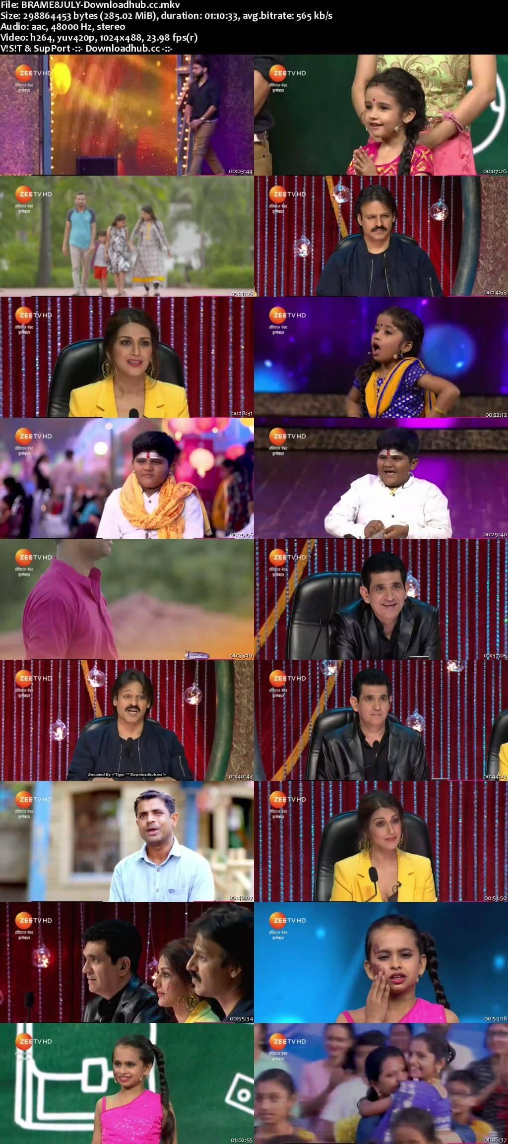 Indias Best Dramebaaz Season 3 08 July 2018 Episode 04 HDTV 480p