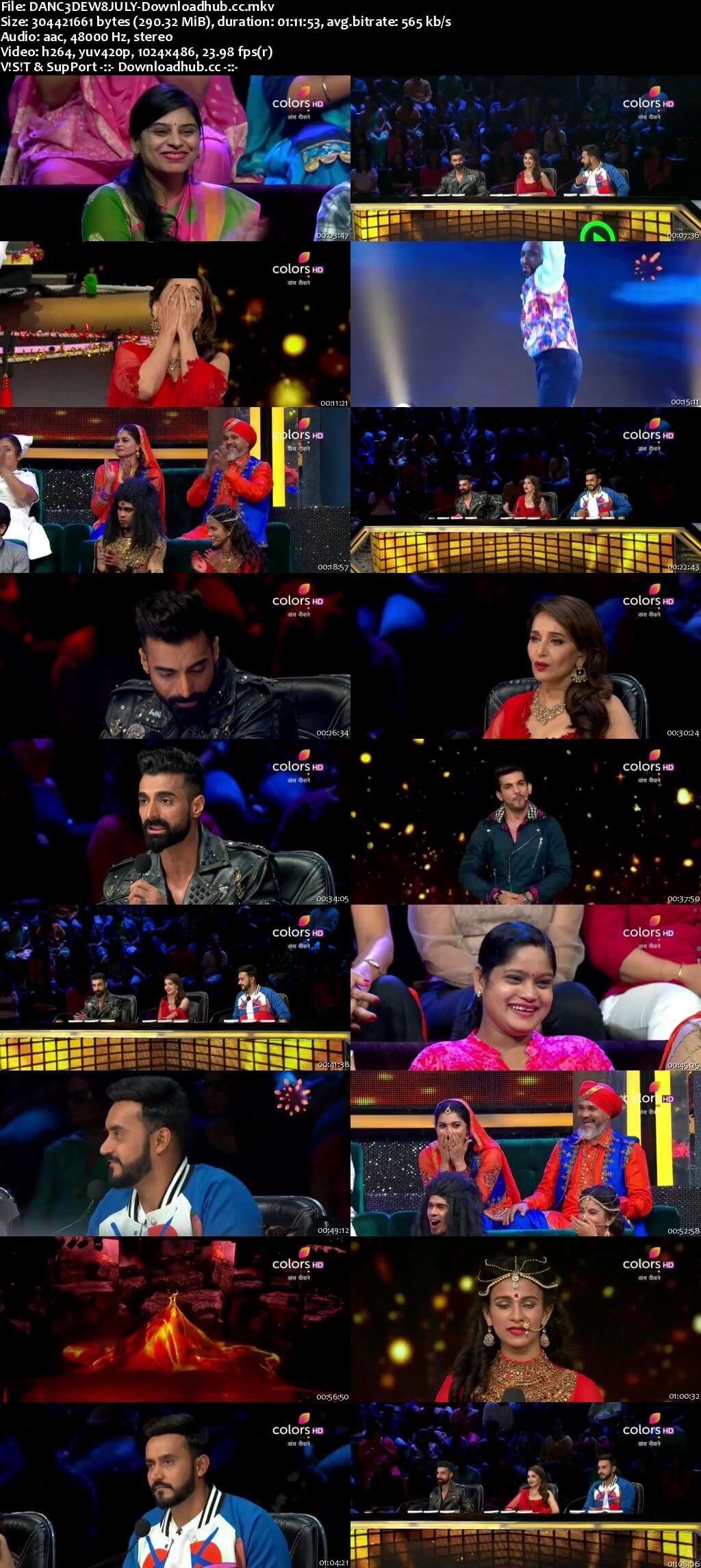 Dance Deewane 08 July 2018 Episode 12 HDTV 480p