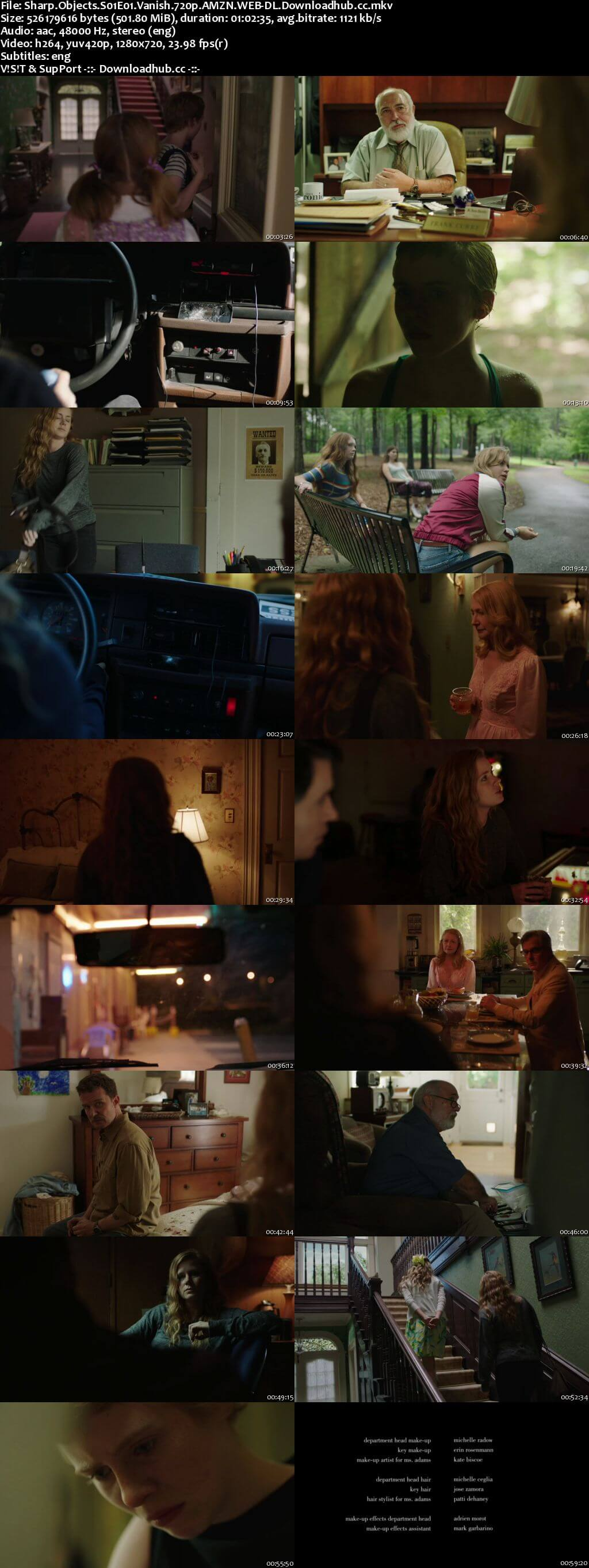 Sharp Objects S01E01 500MB WEB-DL 720p ESubs