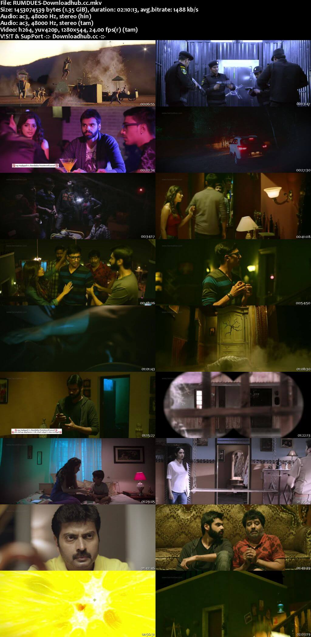 Rum 2017 Dual Audio 720p UNCUT HDRip [Hindi - Tamil] ESubs