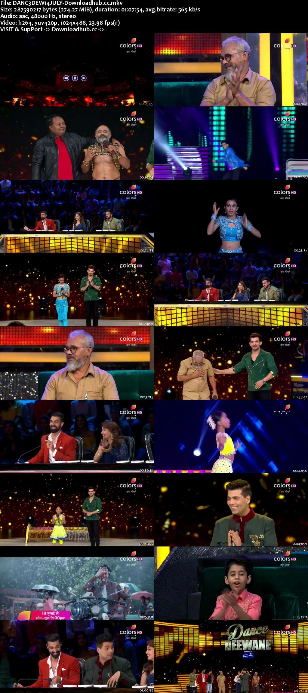 Dance Deewane 14 July 2018 Episode 13 HDTV 480p