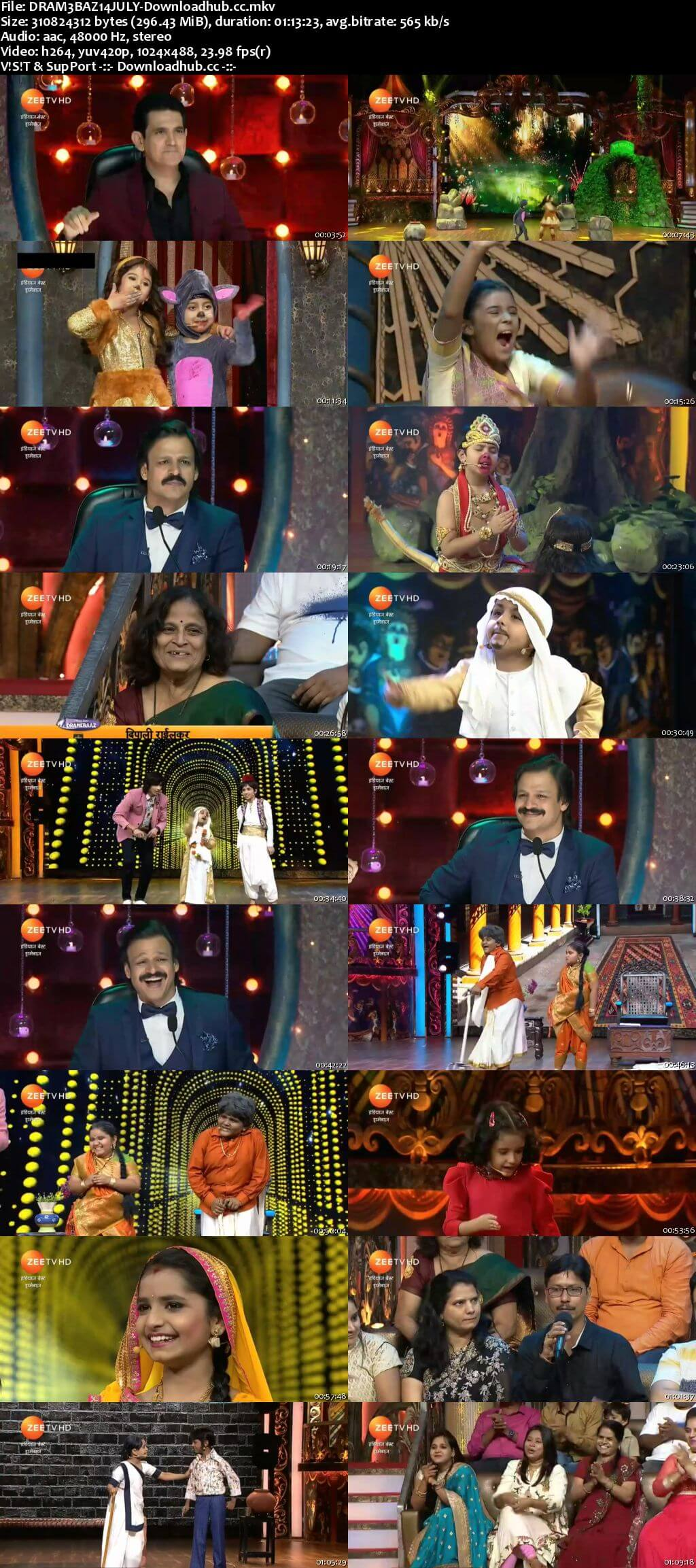 Indias Best Dramebaaz Season 3 14 July 2018 Episode 05 HDTV 480p