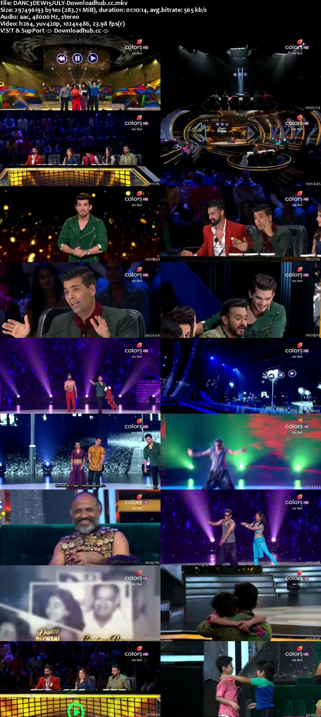 Dance Deewane 15 July 2018 Episode 14 HDTV 480p