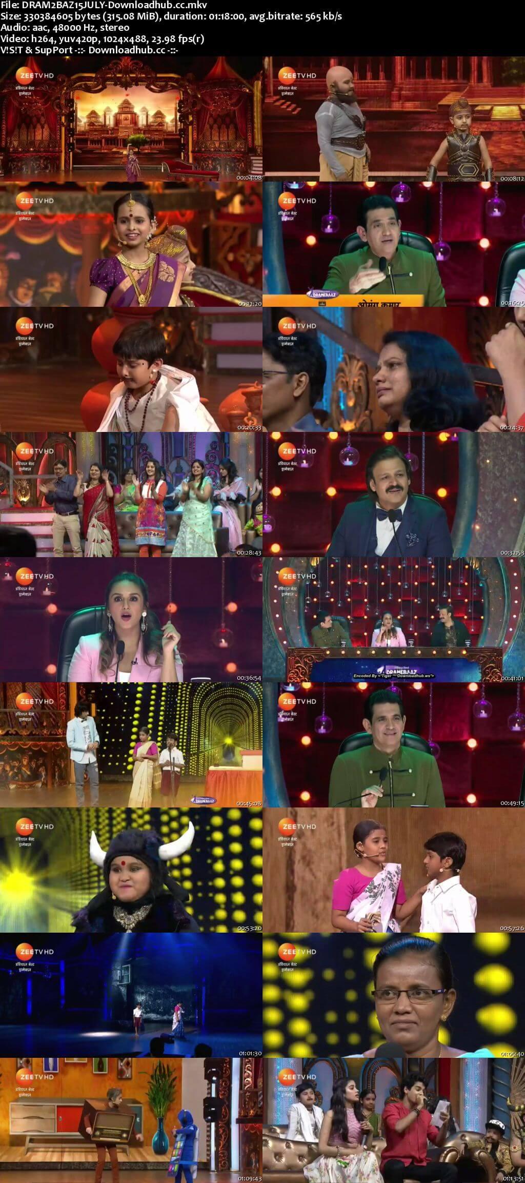 Indias Best Dramebaaz Season 3 15 July 2018 Episode 06 HDTV 480p