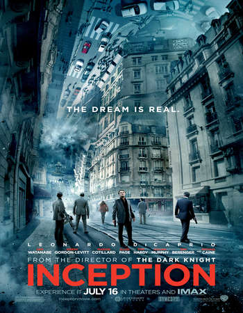 Inception 2010 Dual Audio [Hindi – English] 720p BluRay 1.5GB