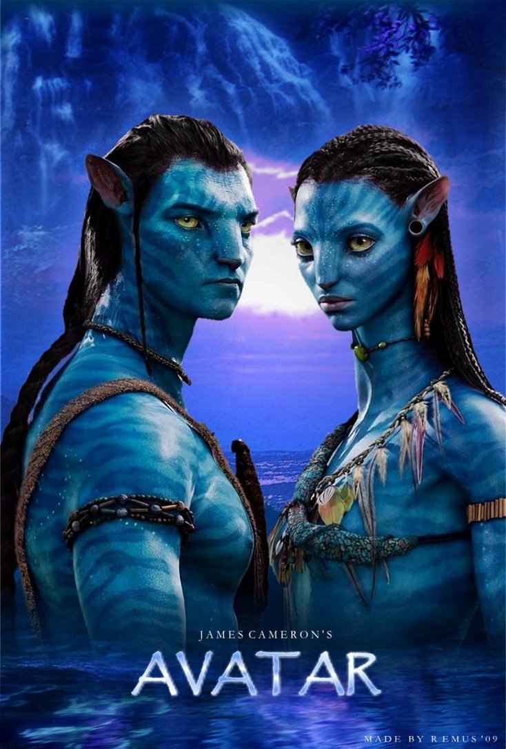 Avatar 2009 Hindi Dual Audio Extended 720p 1.6GB BluRay