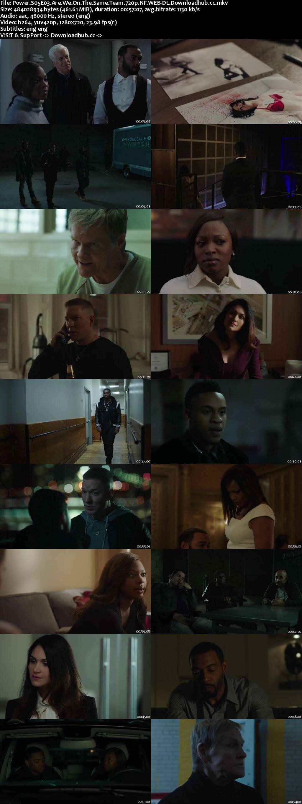 Power S05E03 450MB WEB-DL 720p x264 ESubs