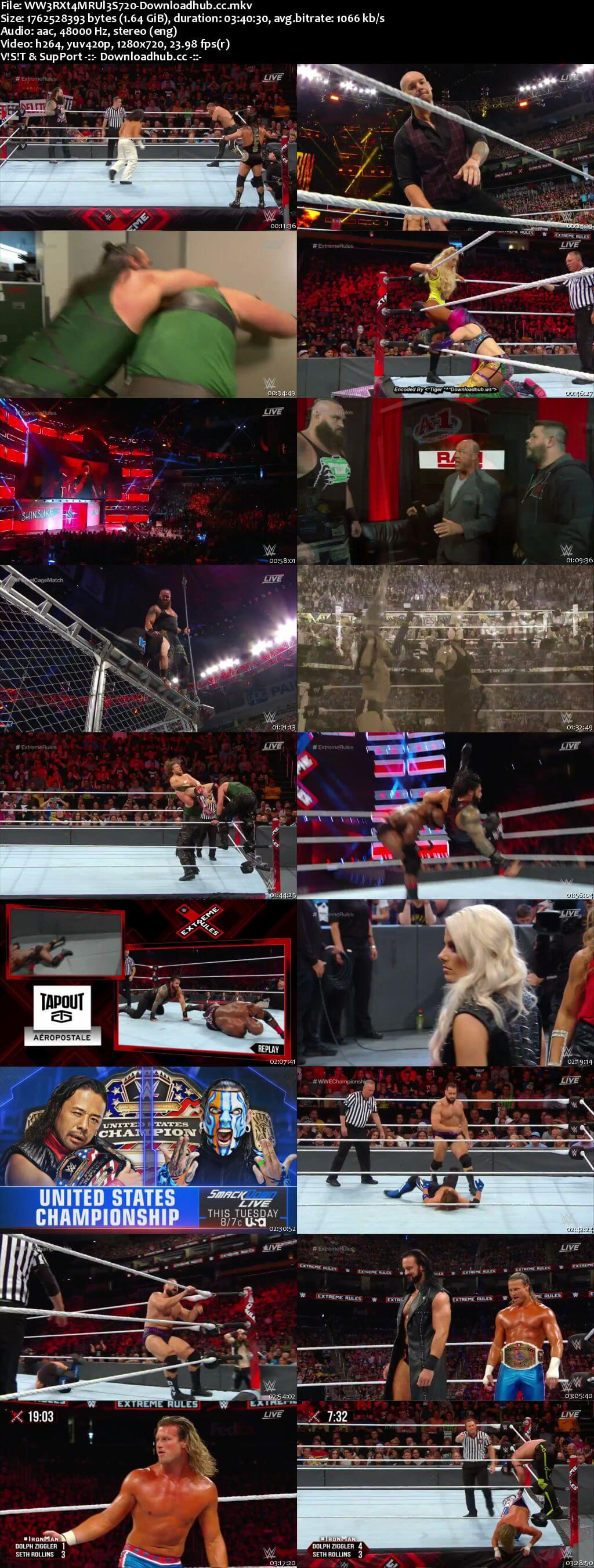WWE Extreme Rules 15th July 2018 720p PPV WEBRip x264