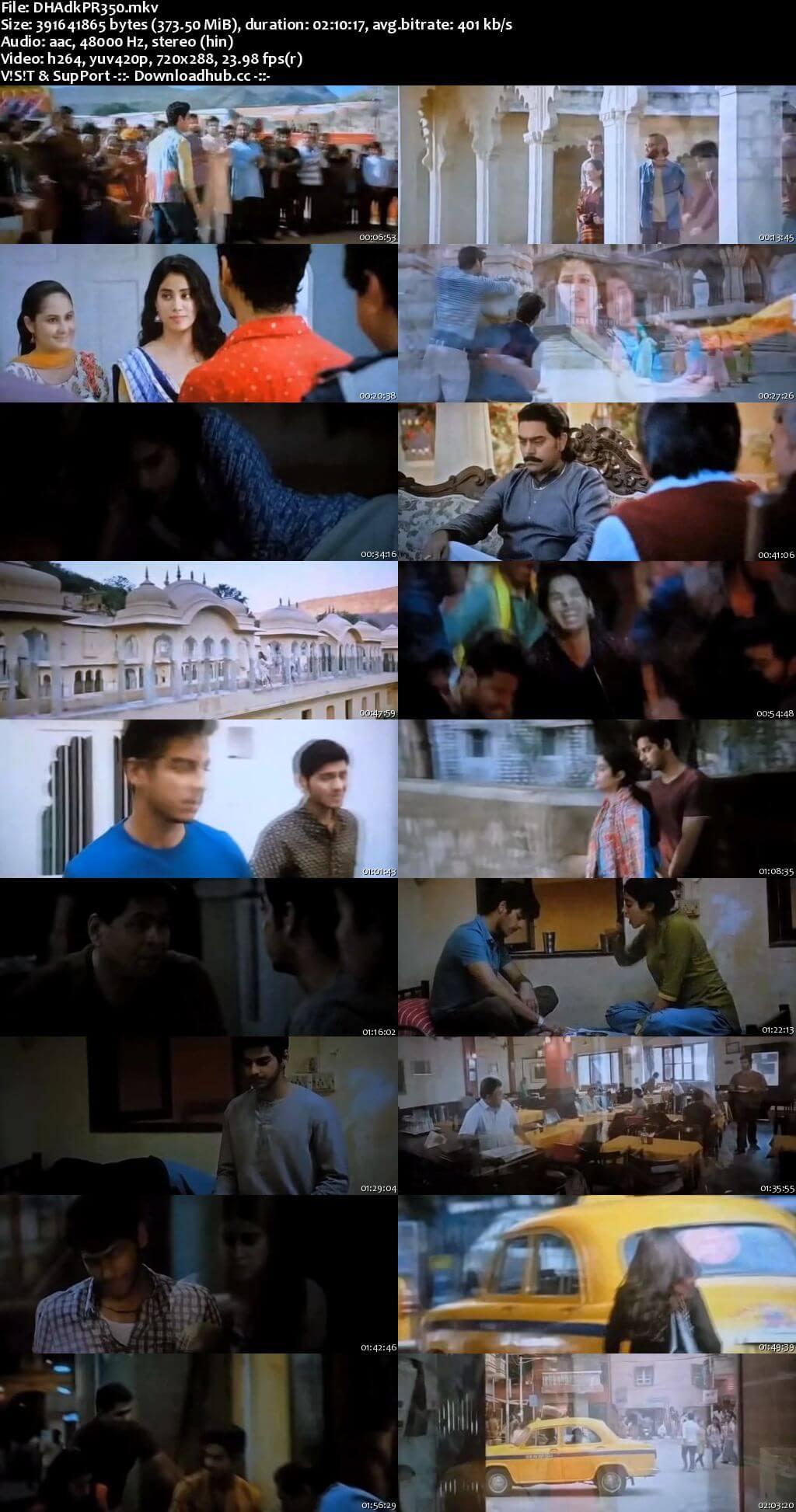 Dhadak 2018 Hindi 350MB Pre-DVDRip 480p
