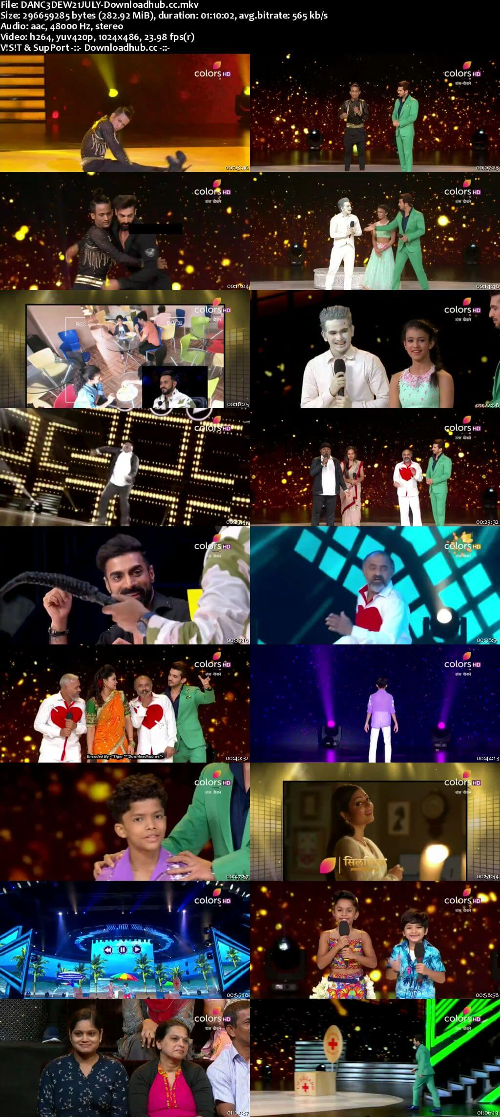 Dance Deewane 21 July 2018 Episode 15 HDTV 480p