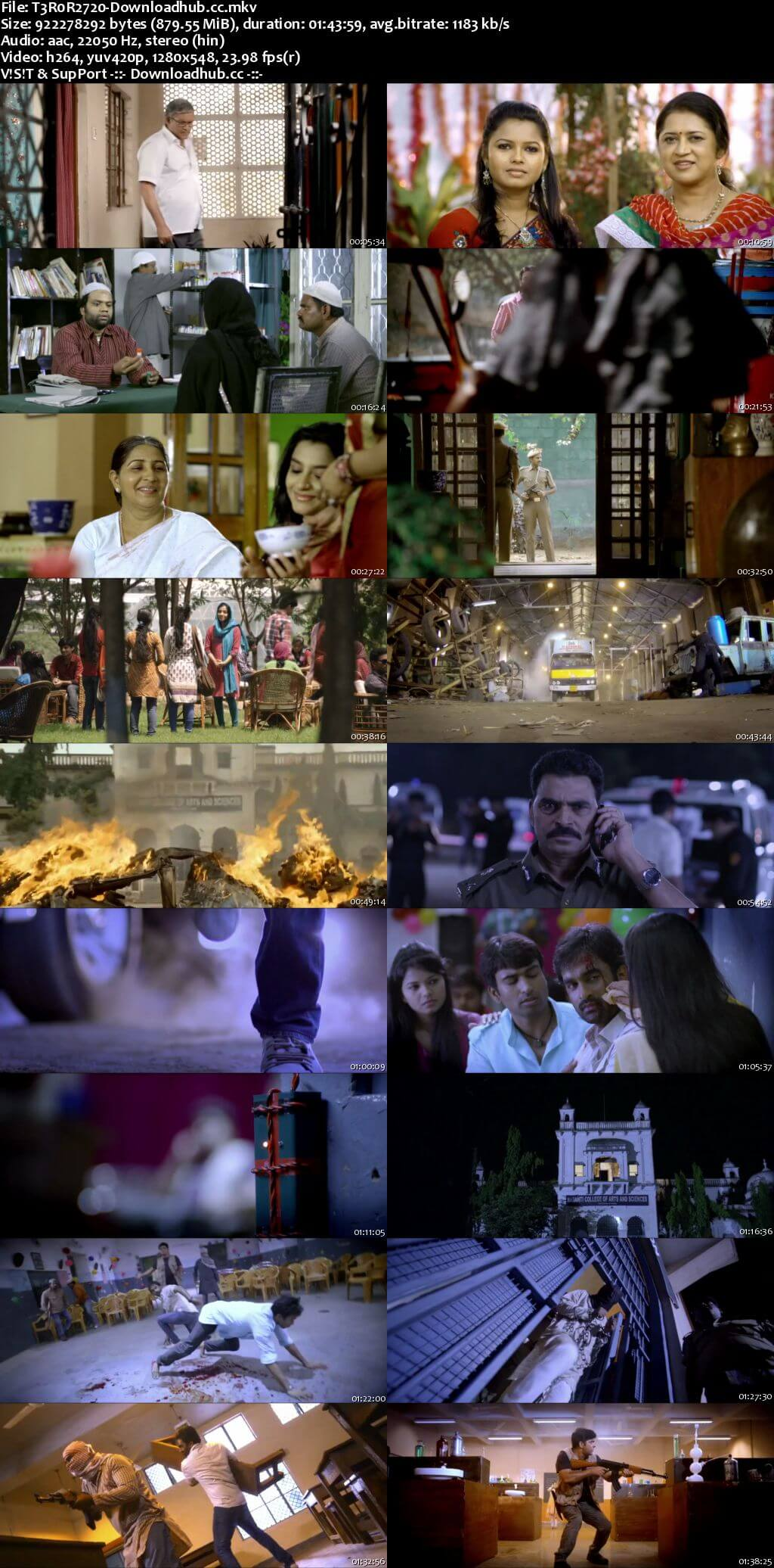 Terror 2 2018 Hindi Dubbed 720p HDRip