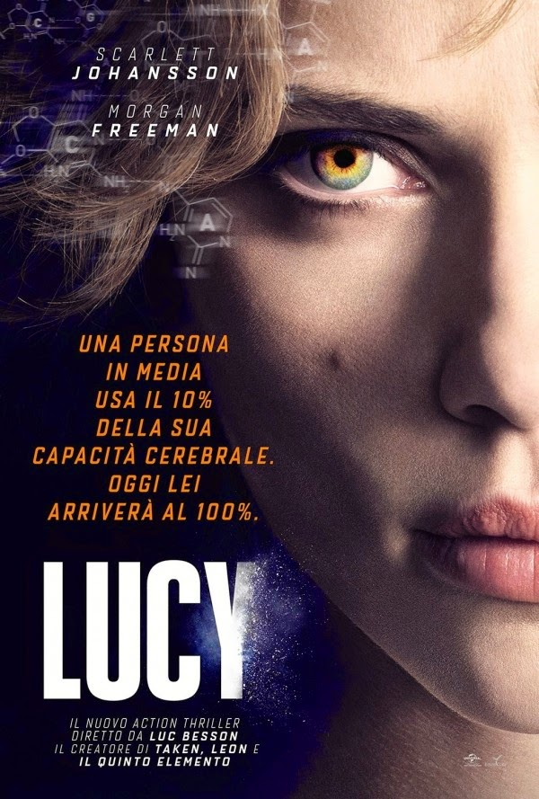 Lucy 2014 Dual Audio 480p 300MB [Hindi – English] BluRay