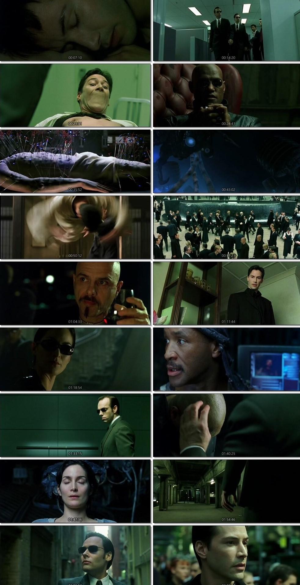 The Matrix 1999 Dual Audio Hindi BluRay Full Movie Download HD