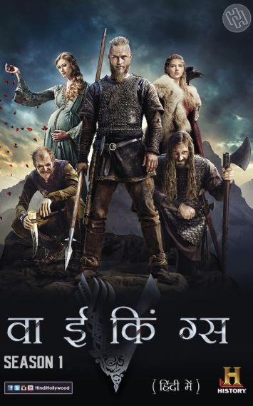 Vikings S01 Complete Hindi Dual Audio 720p [Episode 5 Added] BluRay
