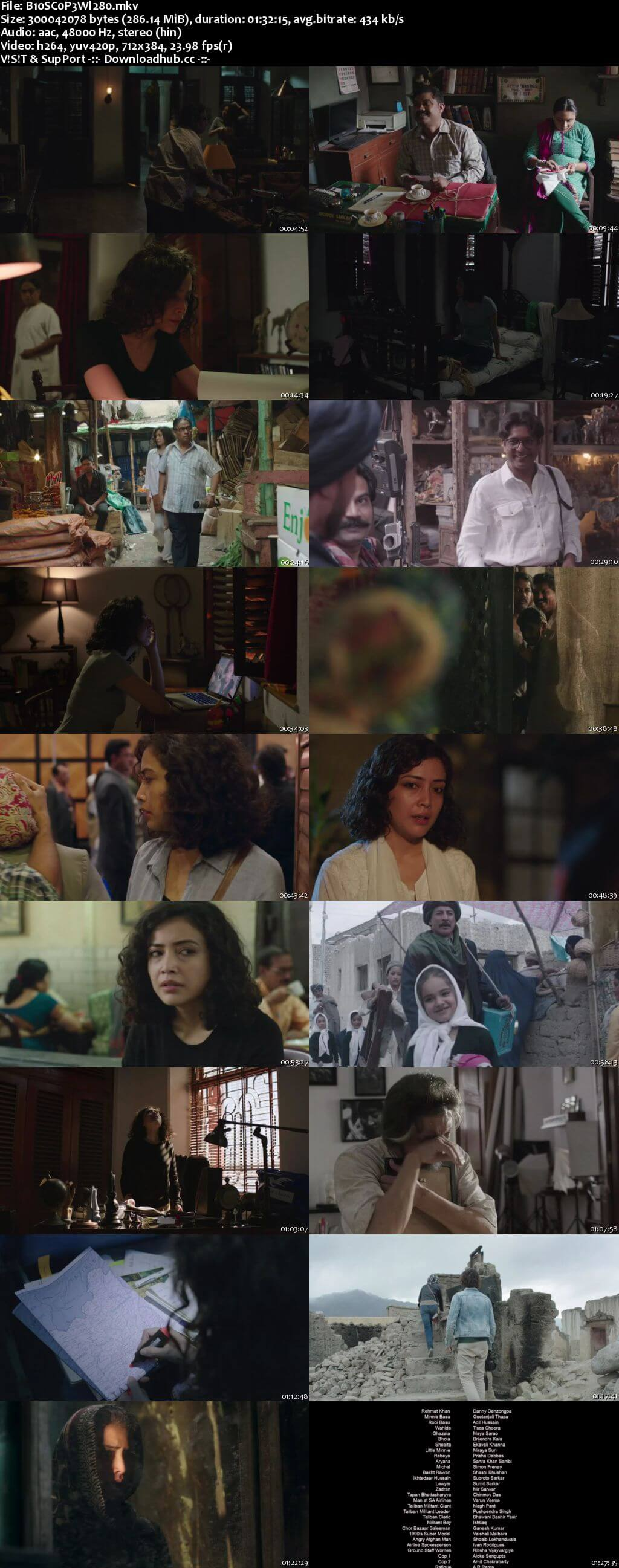 Bioscopewala 2018 Hindi 280MB HDRip 480p ESubs