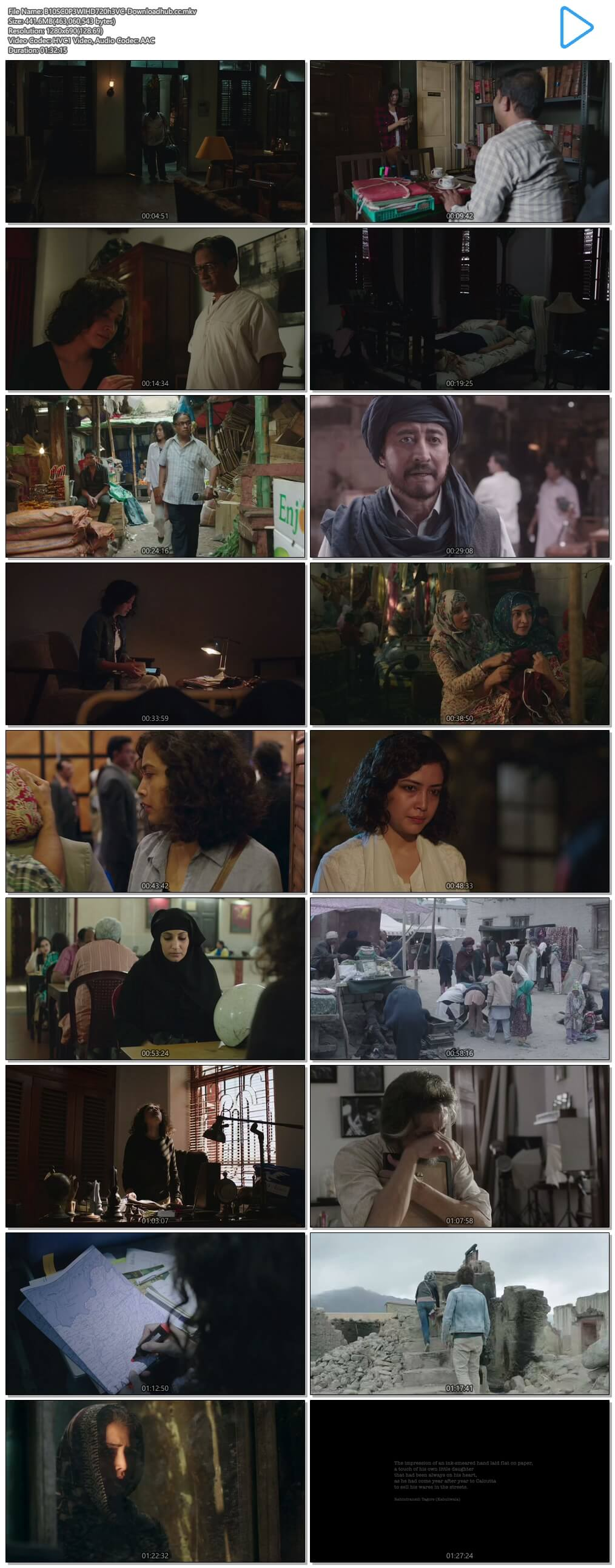 Bioscopewala 2018 Hindi 450MB HDRip 720p ESubs HEVC