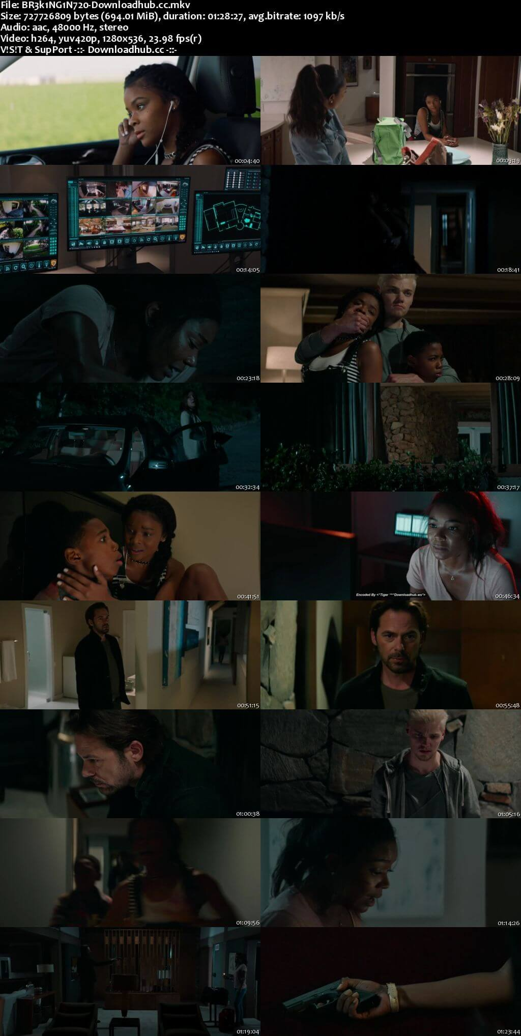 Breaking In 2018 English 720p Web-DL 700MB ESubs