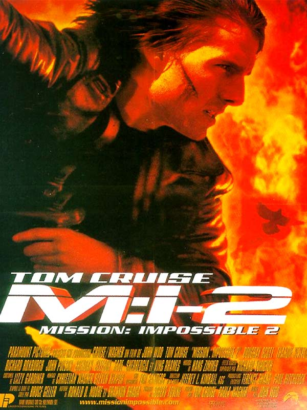 Mission Impossible 2 (2000) Dual Audio 480p 300MB BluRay