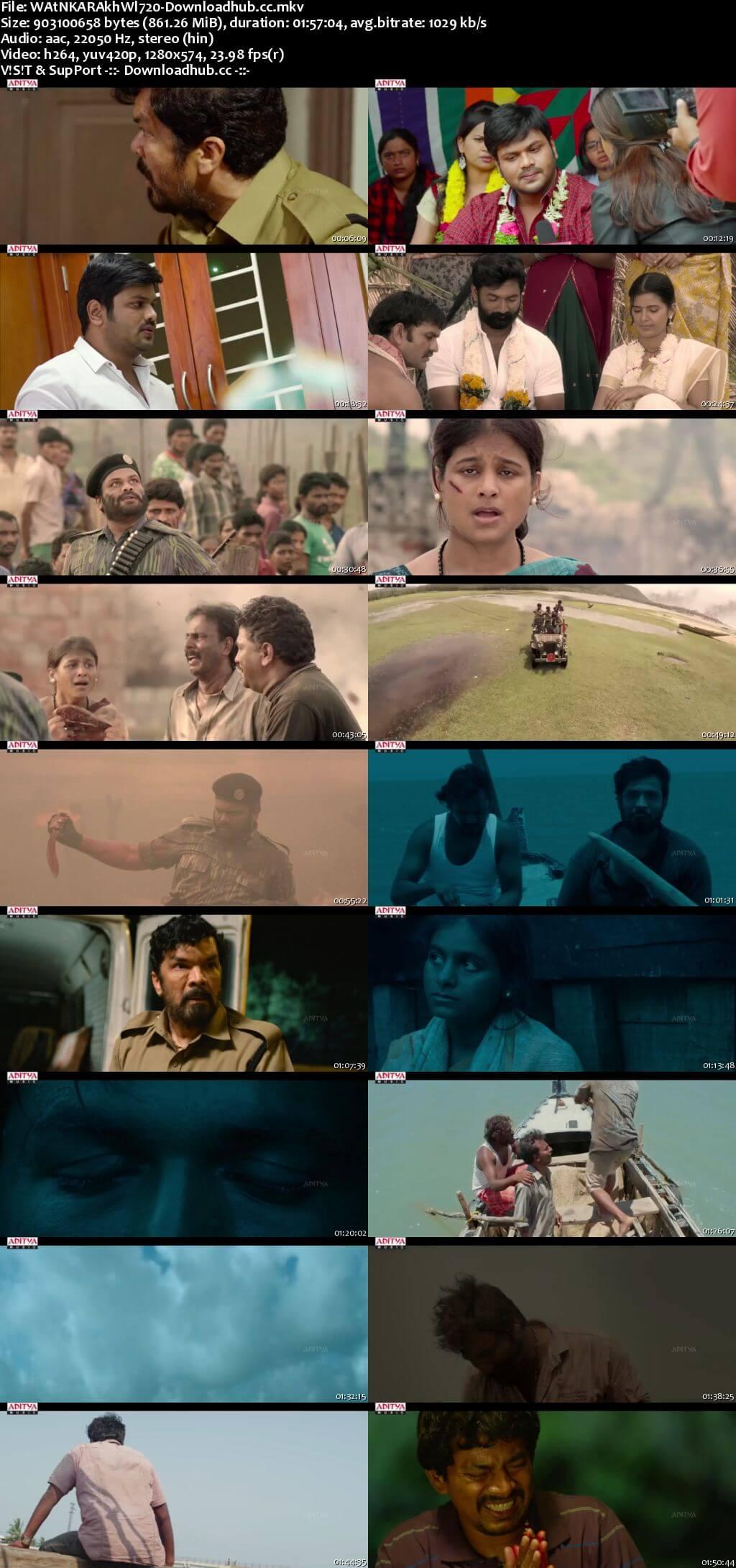 Watan Ka Rakhwala 2018 Hindi Dubbed 720p HDRip
