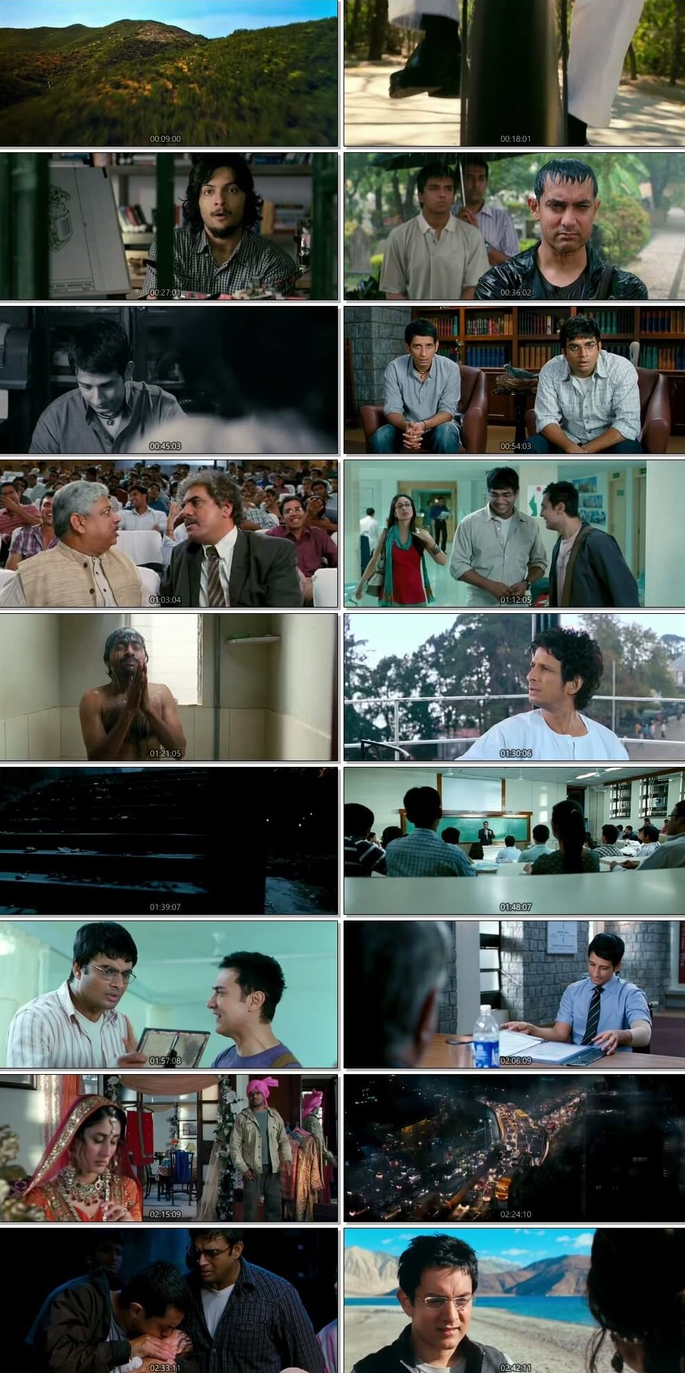 3 Idiots 2009 Dual Audio Hindi BluRay Full Movie Download HD