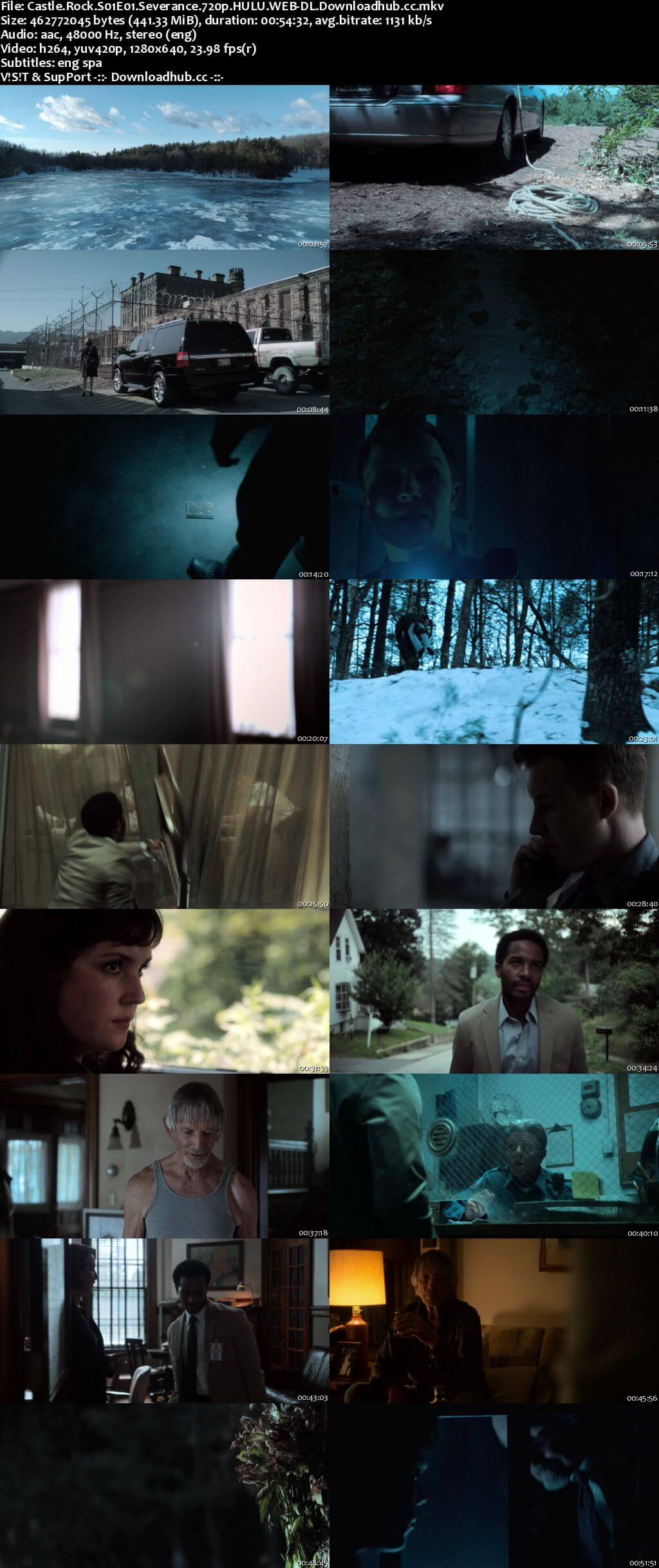 Castle Rock S01E01 440MB WEB-DL 720p ESubs