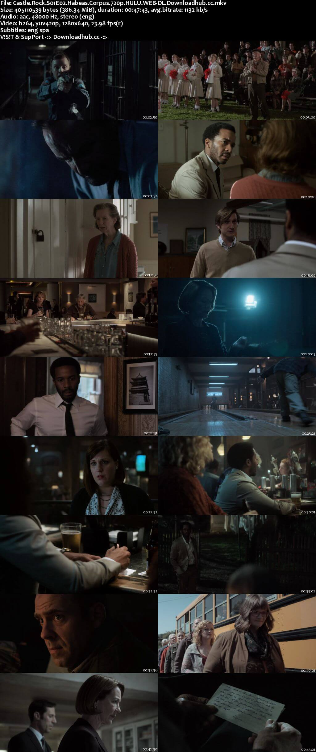 Castle Rock S01E02 380MB WEB-DL 720p ESubs