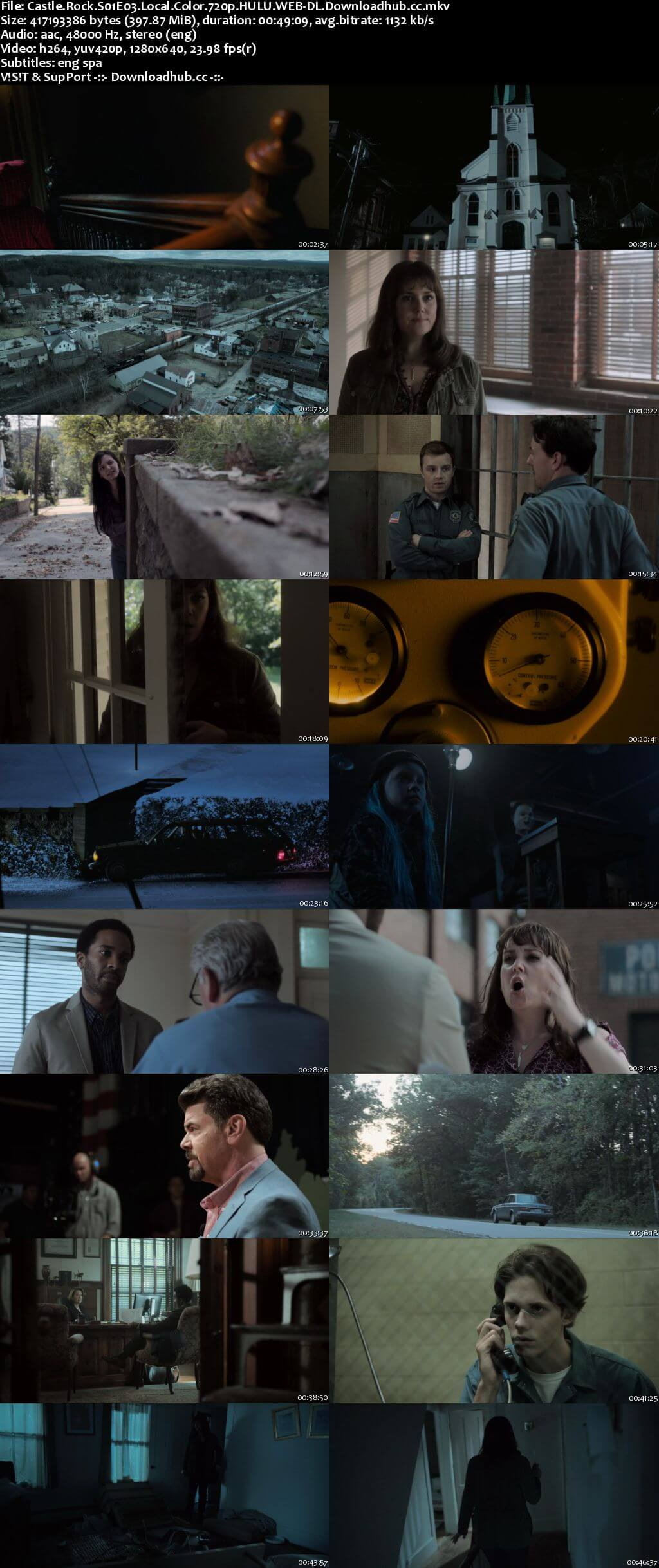 Castle Rock S01E03 400MB WEB-DL 720p ESubs