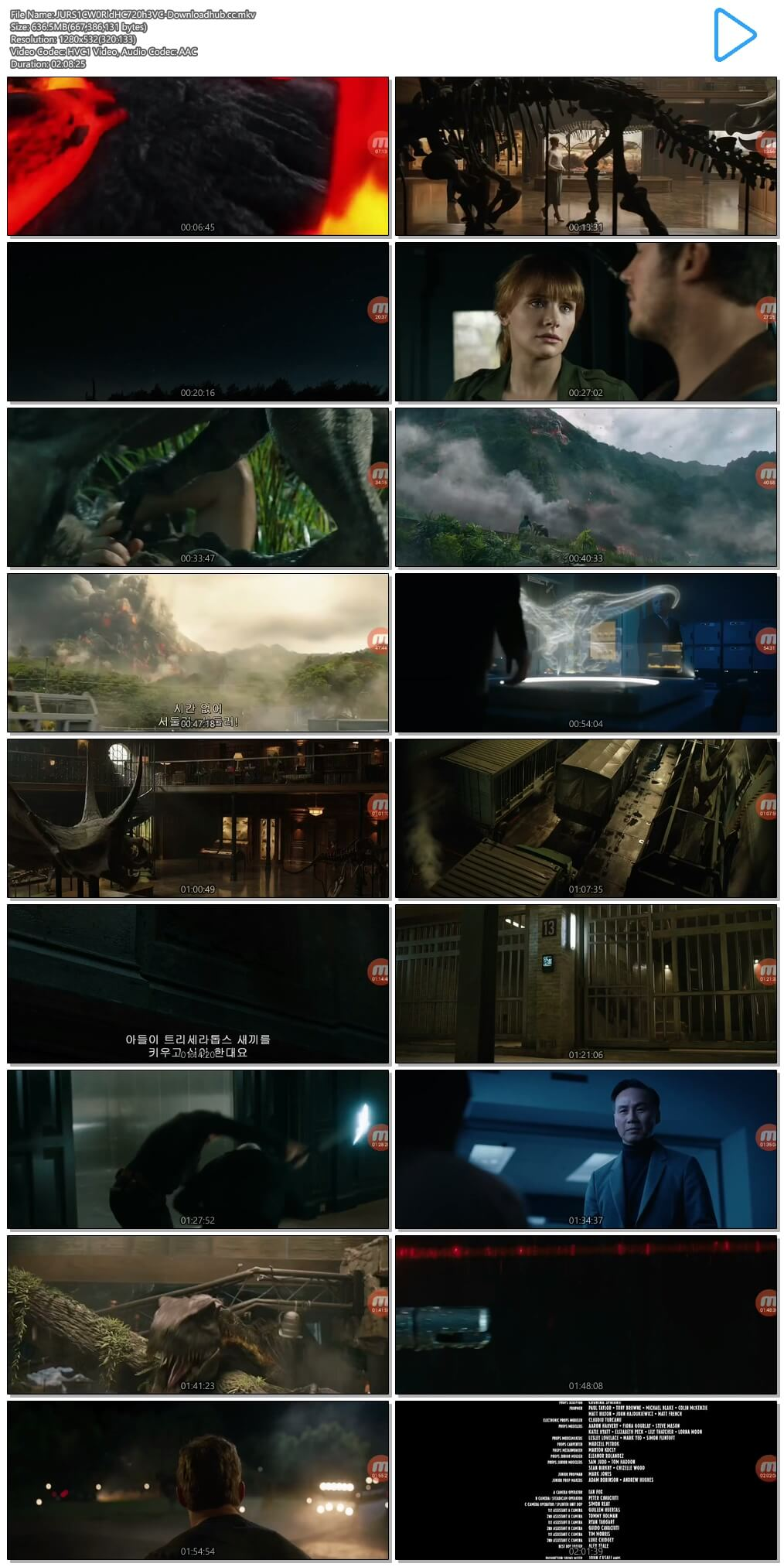Jurassic World Fallen Kingdom 2018 Hindi Dual Audio 600MB HC HDRip 720p HEVC