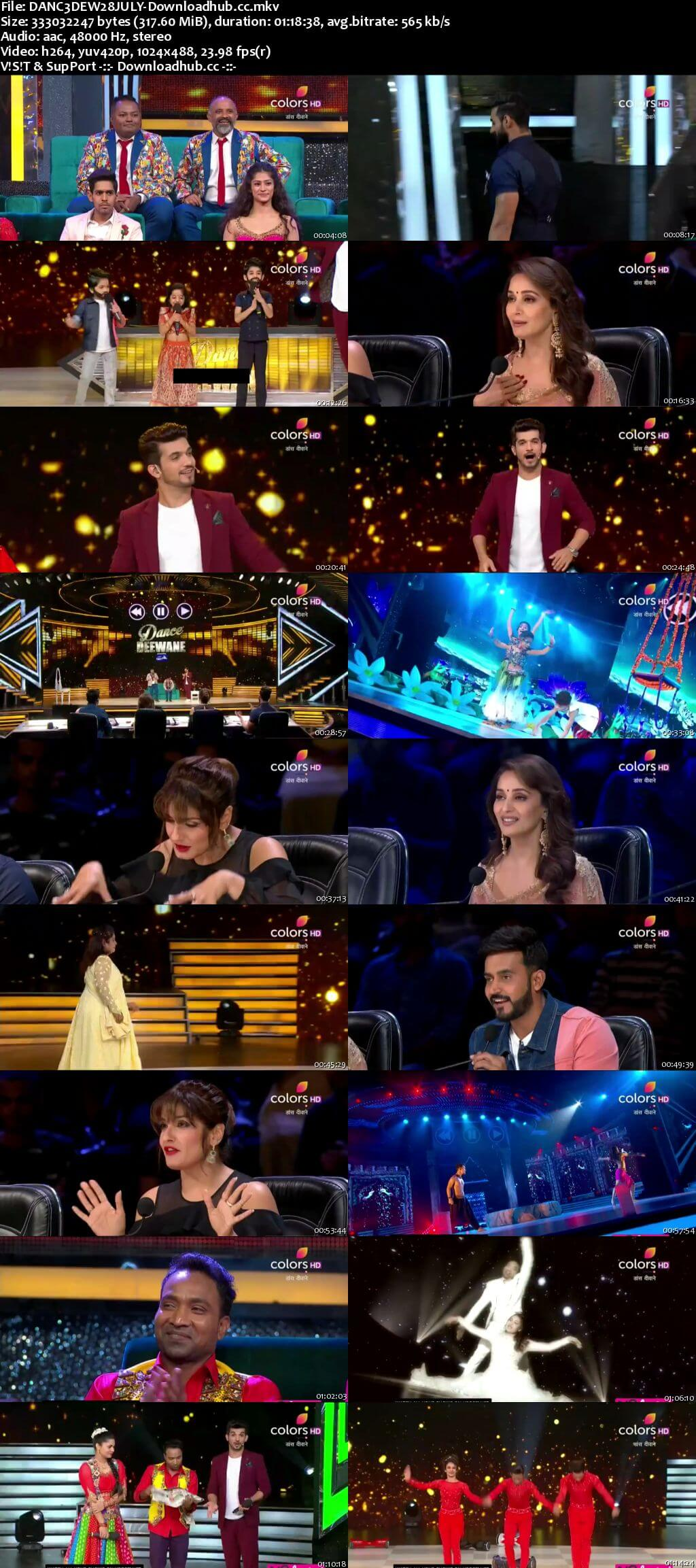 Dance Deewane 28 July 2018 Episode 17 HDTV 480p