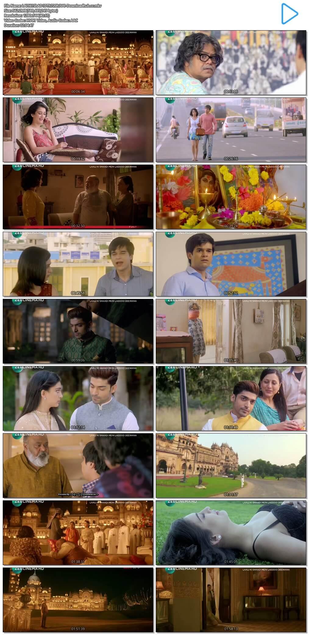 Laali Ki Shaadi Mein Laaddoo Deewana 2017 Hindi 550MB DTHRip 720p HEVC