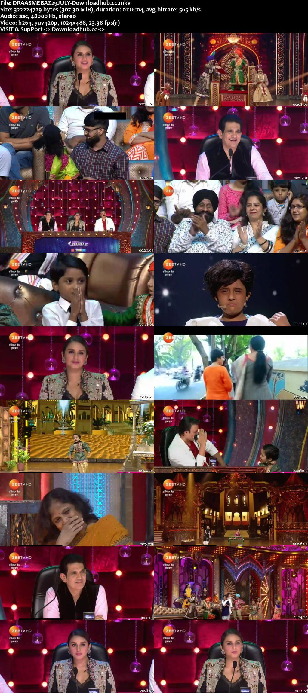Indias Best Dramebaaz Season 3 29 July 2018 Episode 10 HDTV 480p