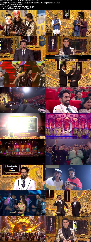 IIFA Awards (Main Event) 29th July 2018 600MB HDTV 480p