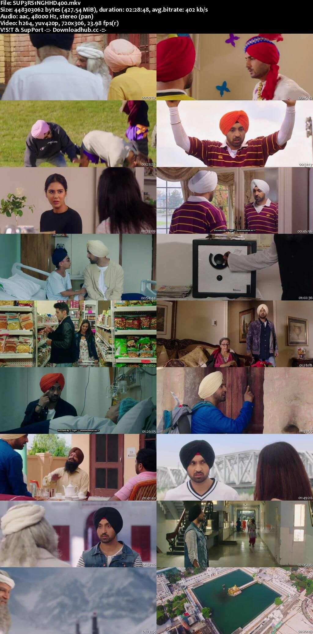 Super Singh 2017 Punjabi 400MB HDRip 480p