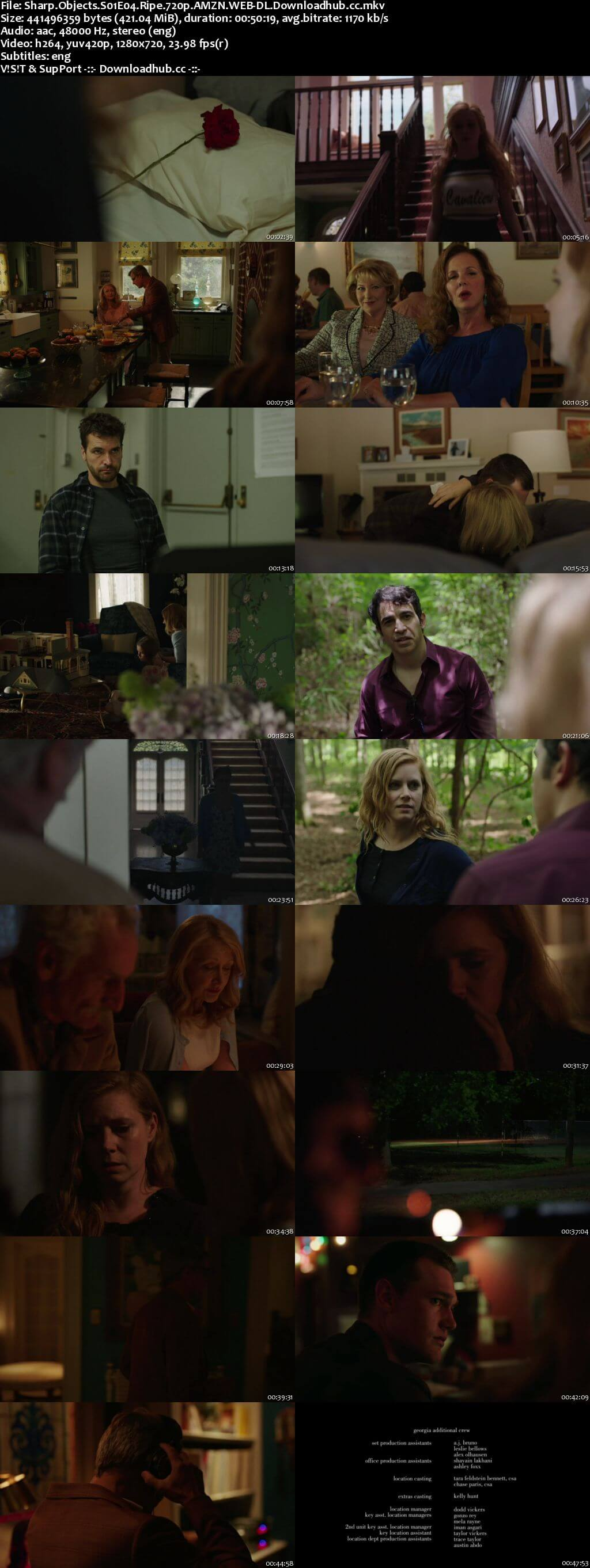Sharp Objects S01E04 400MB WEB-DL 720p ESubs
