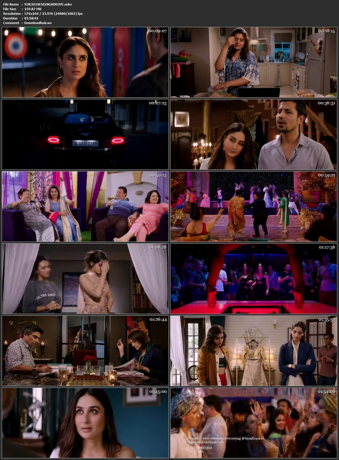 Veere Di Wedding 2018 Hindi 160MB HDRip HEVC 480p ESubs