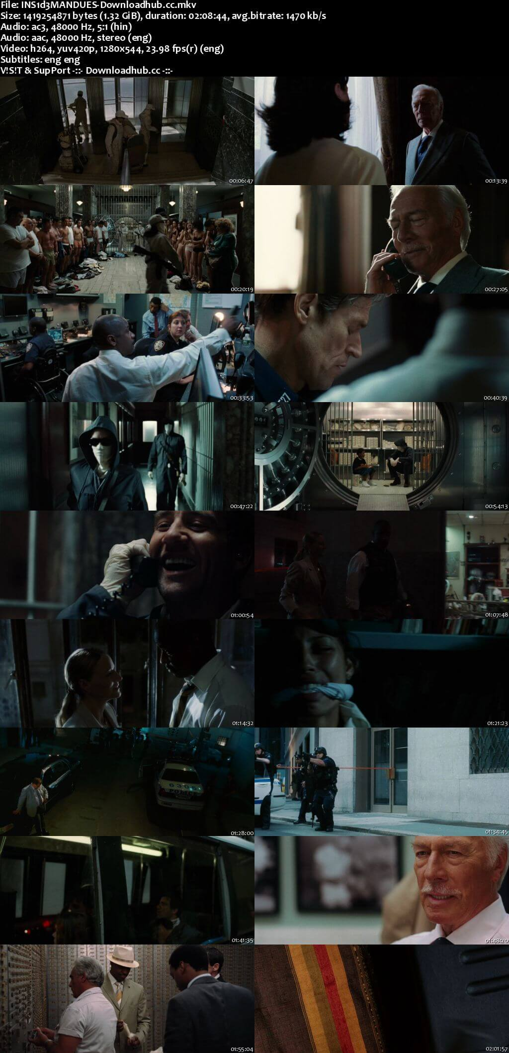 Inside Man 2006 Dual Audio 720p BluRay [Hindi - English] ESubs