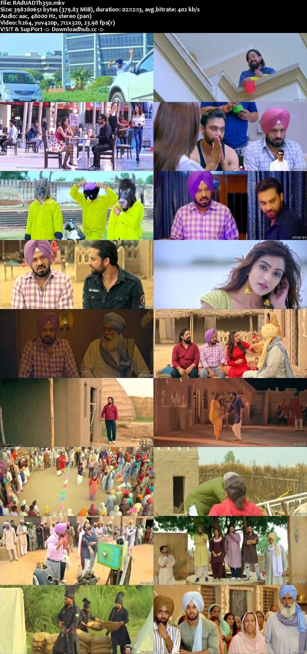 Raduaa 2018 Punjabi 350MB DTHRip 480p