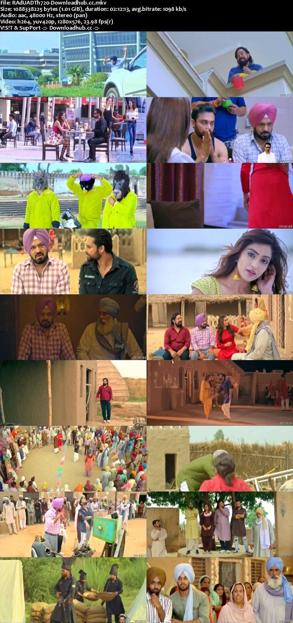 Raduaa 2018 Punjabi 720p DTHRip