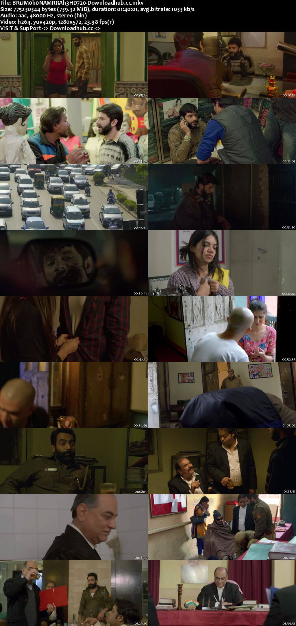 Brij Mohan Amar Rahe 2018 Hindi 720p HDRip