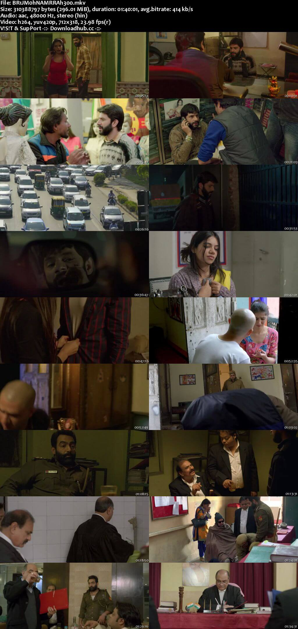 Brij Mohan Amar Rahe 2018 Hindi 300MB HDRip 480p