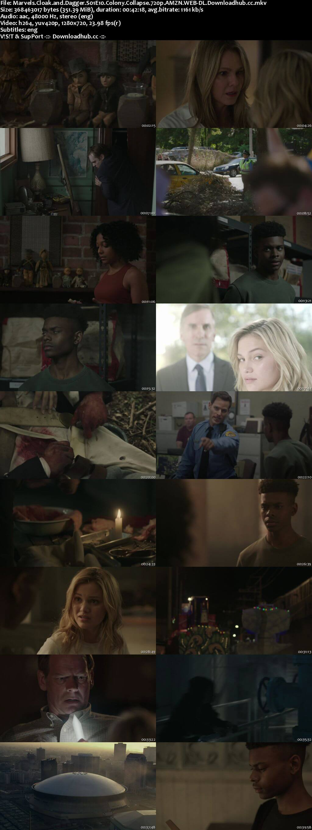 Cloak & Dagger S01E10 350MB WEB-DL 720p ESubs