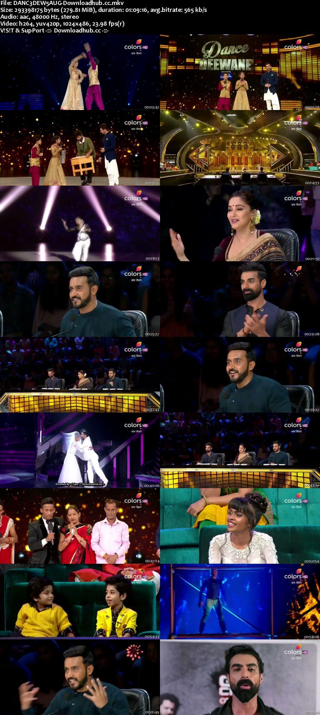 Dance Deewane 05 August 2018 Episode 19 HDTV 480p