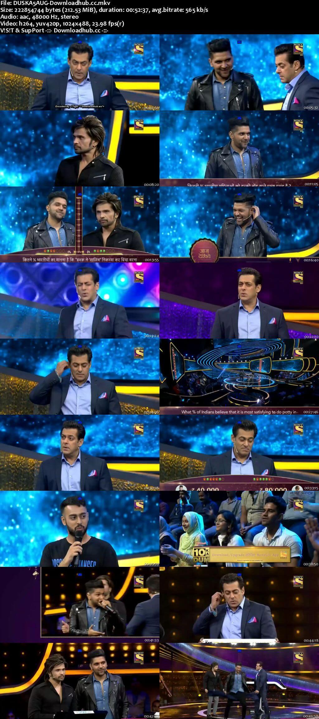 Dus Ka Dum 05 August 2018 Episode 18 HDTV 480p
